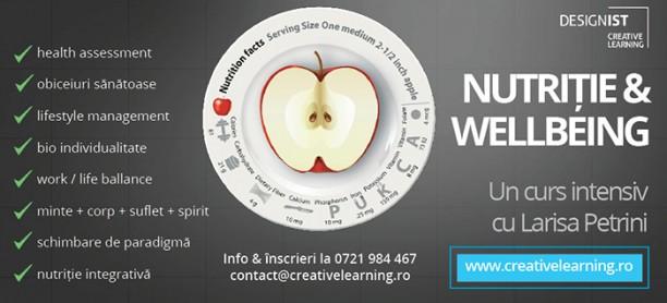 Care sunt schimbările pe care ți le aduce cursul de Nutriție & Wellbeing?