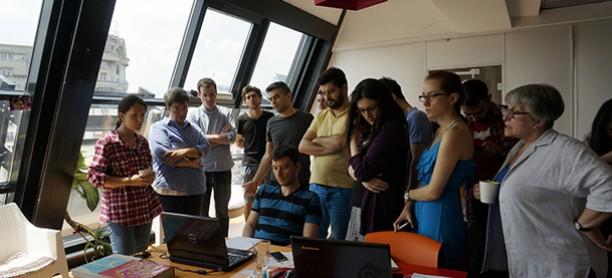 De vorbă cu trainerul Alexe Popescu despre cursul de Graphic Design