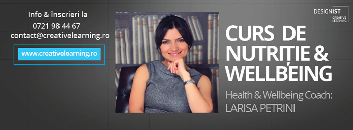 1Curs Nutritie & Wellbeing - Creative Learning
